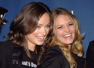 Double Adorable! Olivia Wilde and Jennifer Morrison at the episode party.