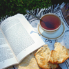 i love books and tea