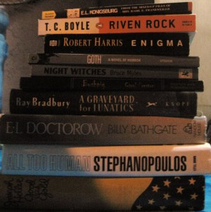 new books (well, some of)