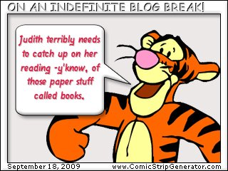 tigger blog break