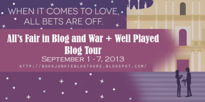 All's Fair Blog Tour