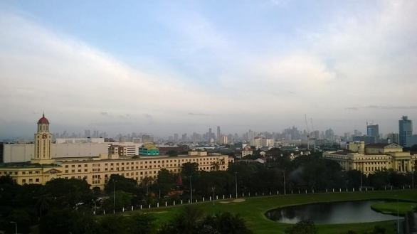Taken from the Skydeck of The Bayleaf Hotel in Intramuros. I love my city!