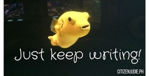 Just keep writing!