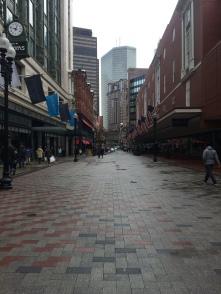 Downtown Boston!